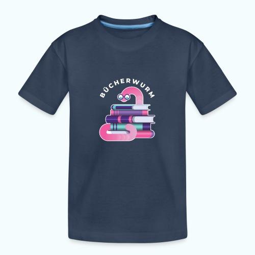 Bücherwurm - Teenager Premium Organic T-Shirt