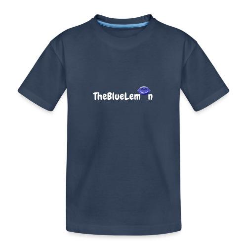 TheBlueLemon writing - Maglietta ecologica premium per ragazzi