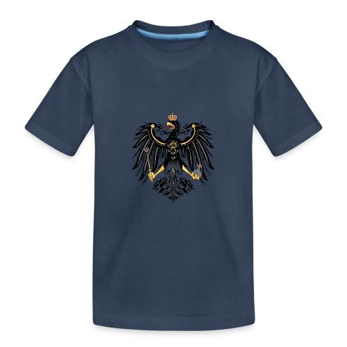 Preussischer Adler - Teenager Premium Bio T-Shirt