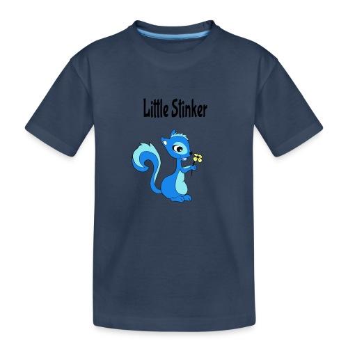 Schattige eekhoorn voor jongens - Teenager premium biologisch T-shirt