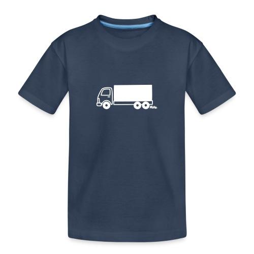 LKW lang - Teenager Premium Bio T-Shirt