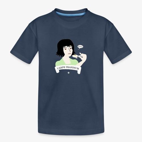 Carpe Prandium - Teenager Premium Organic T-Shirt
