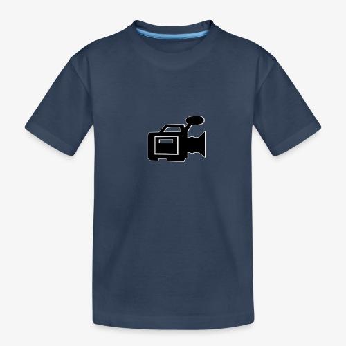 camera - Teenager premium T-shirt økologisk