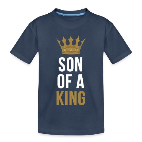 Son of a King Vater Sohn partnerlook - Teenager Premium Bio T-Shirt
