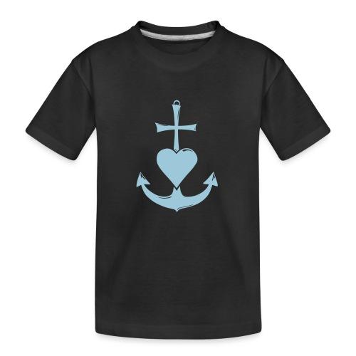 Glaube, Liebe, Hoffnung - Teenager Premium Bio T-Shirt