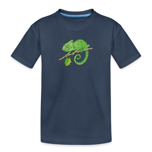 charmantes Chamäleon - Teenager Premium Bio T-Shirt