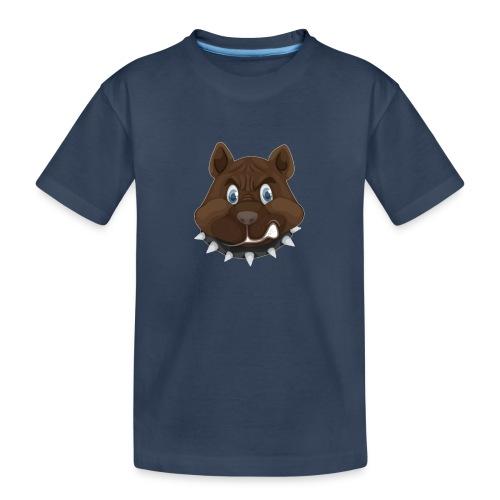 PERRO ENFADADO - Camiseta orgánica premium adolescente