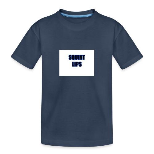 Squint Lips Merch - Teenager Premium Organic T-Shirt