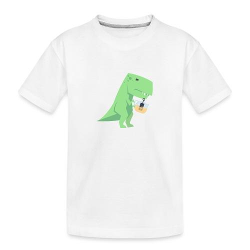 Tea-Saurus - Teenager Premium Bio T-Shirt