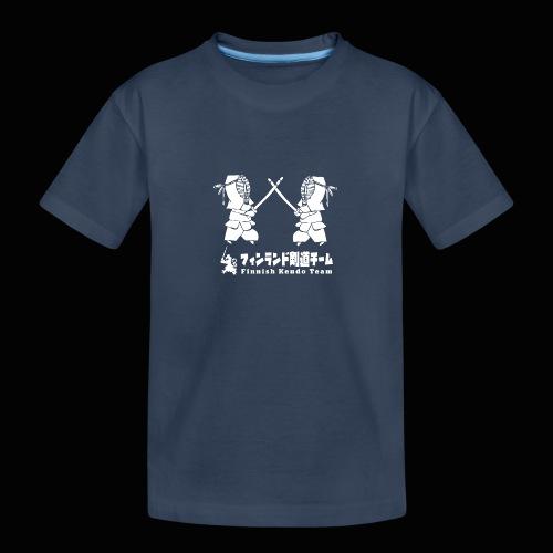 fka team logo white - Teinien premium luomu-t-paita