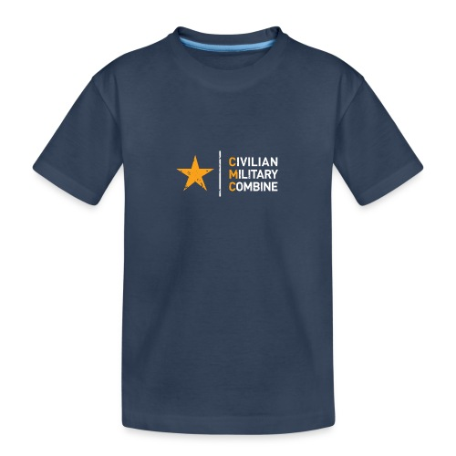 CMC Design - Teenager premium biologisch T-shirt
