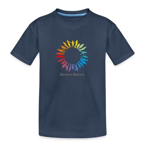Skolen Bifrost - Teenager premium T-shirt økologisk