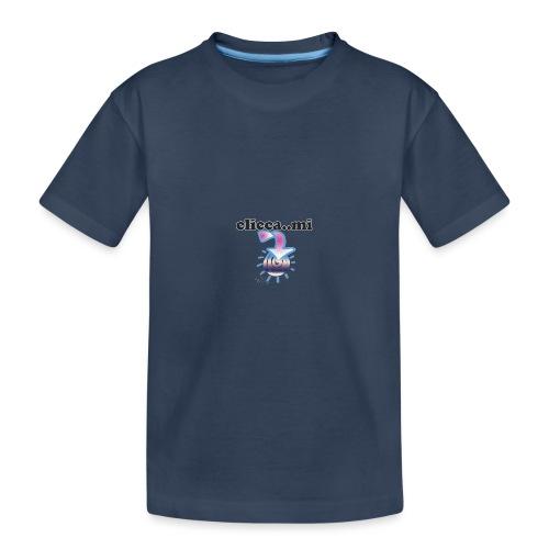 cliccami - Maglietta ecologica premium per ragazzi
