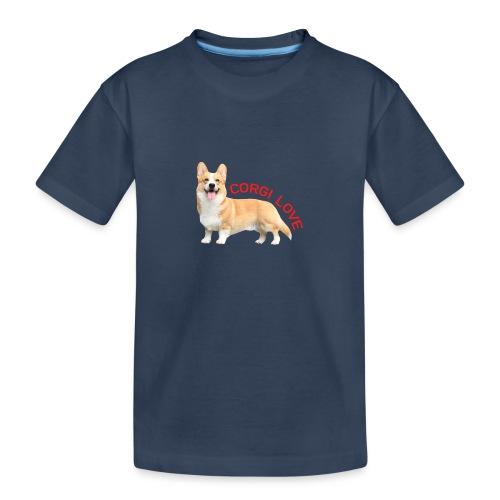 CorgiLove - Teenager Premium Organic T-Shirt