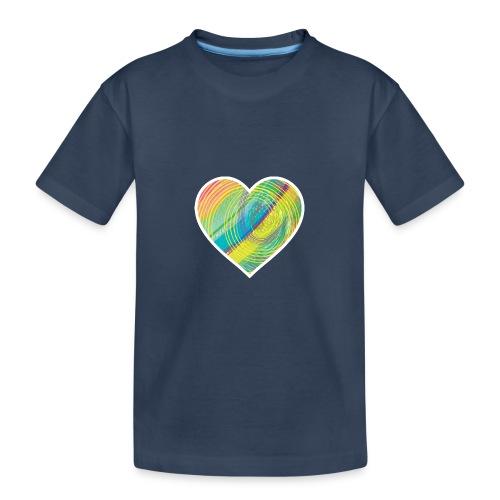 Spread the Love - Teenager Premium Organic T-Shirt