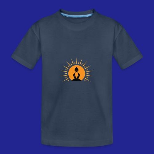 Guramylyfe logo no text black - Teenager Premium Organic T-Shirt