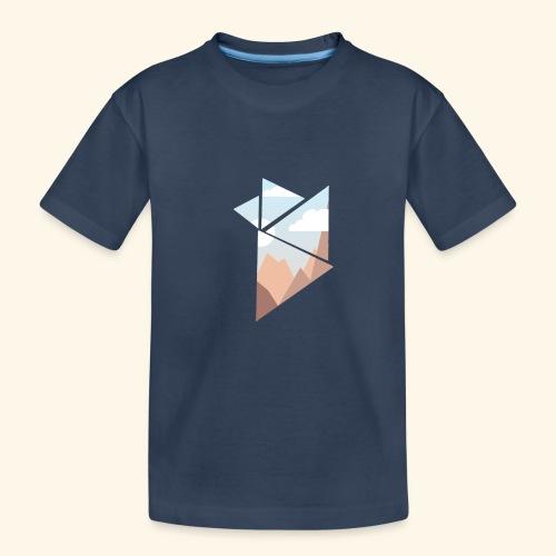 shattered - Ekologisk premium-T-shirt tonåring