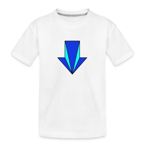 flecha - Camiseta orgánica premium adolescente