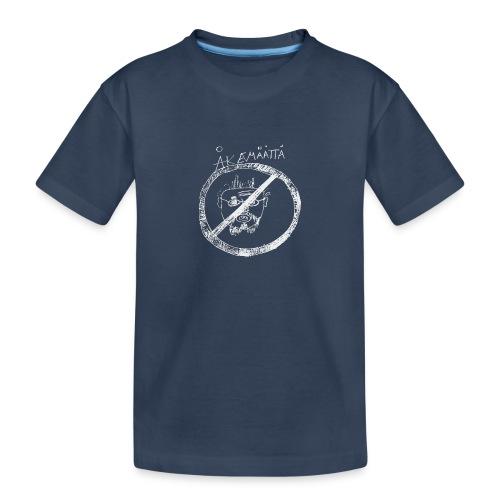 Mättää black - Ekologisk premium-T-shirt tonåring