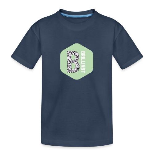 B brilliant green - Teenager premium biologisch T-shirt