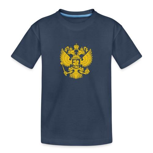 Russia Adler GOLD - Teenager Premium Bio T-Shirt