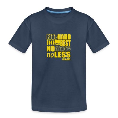 ridehard yellow - Teenager Premium Organic T-Shirt
