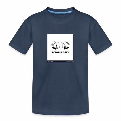 Bodybuilding, kropps byggare - Ekologisk premium-T-shirt tonåring