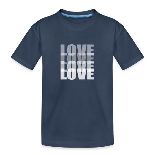 Love - Camiseta orgánica premium adolescente