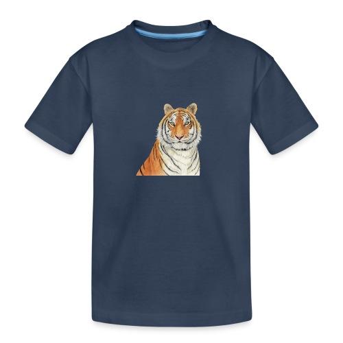 Tigre,Tiger,Wildlife,Natura,Felino - Maglietta ecologica premium per ragazzi