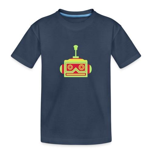 Robot head - Teenager Premium Organic T-Shirt