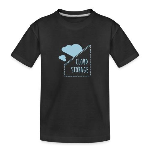 Cloud Storage - Teenager Premium Bio T-Shirt