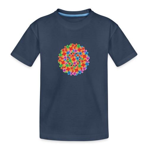 Flower mix - Teenager Premium Organic T-Shirt
