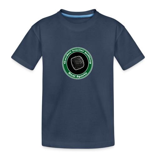 børne Real Tractor Pulling - Teenager premium T-shirt økologisk