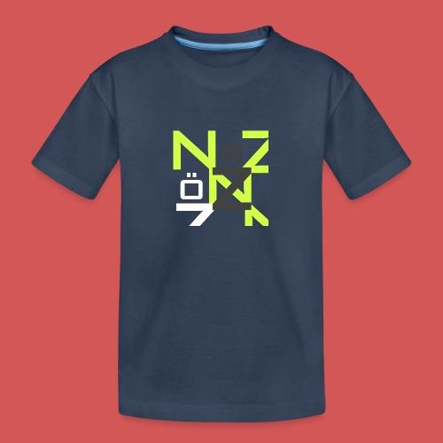 Nörthstat Group™ Clear Transparent Main Logo - Teenager Premium Organic T-Shirt