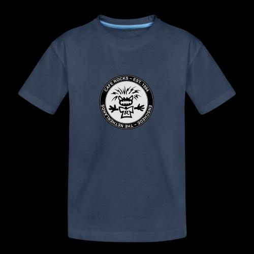 Emblem BW - Teenager premium biologisch T-shirt