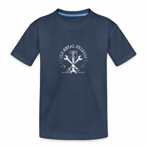 Old Metal Friends - Elite-Schrauber - Teenager Premium Bio T-Shirt