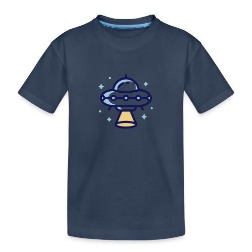 Space Spaceship - Teenager premium biologisch T-shirt
