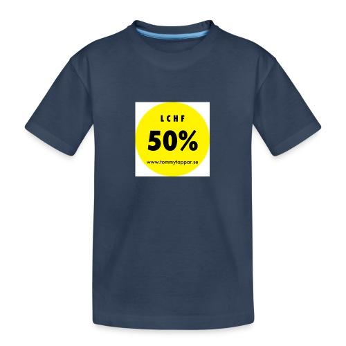 knapp 50 3 - Ekologisk premium-T-shirt tonåring