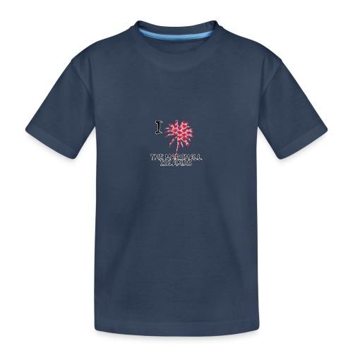 I Love The Marshall Islands - Teenager Premium Organic T-Shirt