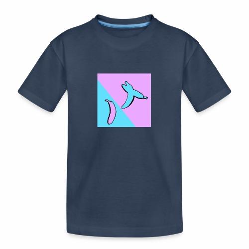 Stop fighting have a banana - Premium økologisk T-skjorte for tenåringer