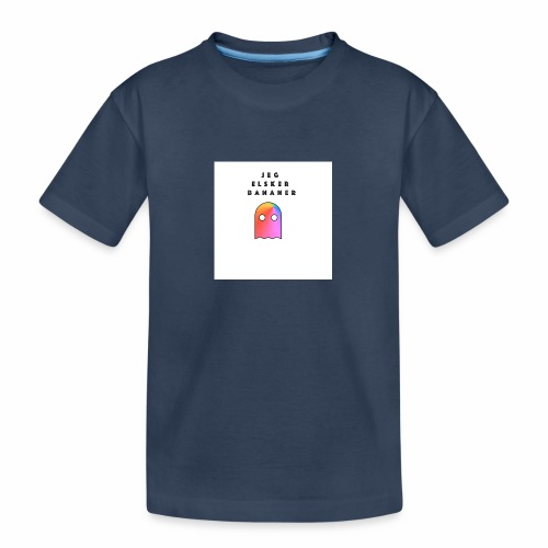 Jeg elsker - Premium økologisk T-skjorte for tenåringer