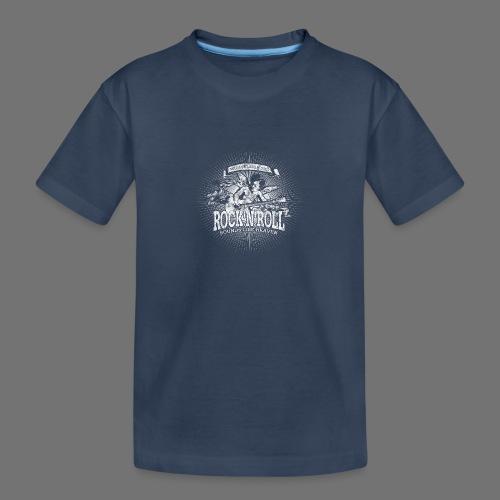 Rock 'n' Roll - Sounds Like Heaven (hvid) - Teenager premium T-shirt økologisk