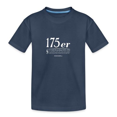 175 er. Protest. White. - Camiseta orgánica premium adolescente