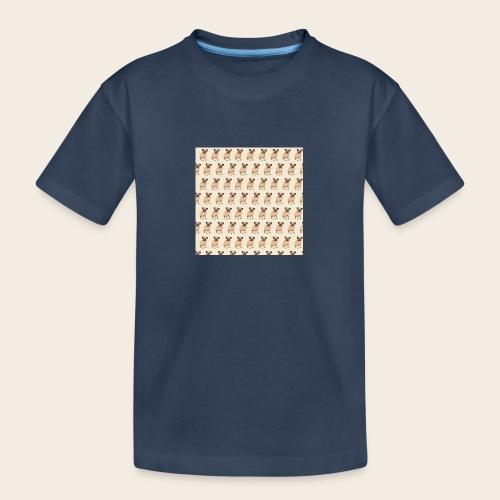 mops muster 2 - Teenager Premium Bio T-Shirt