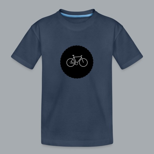 Bike Circle Vector - Teenager Premium Bio T-Shirt