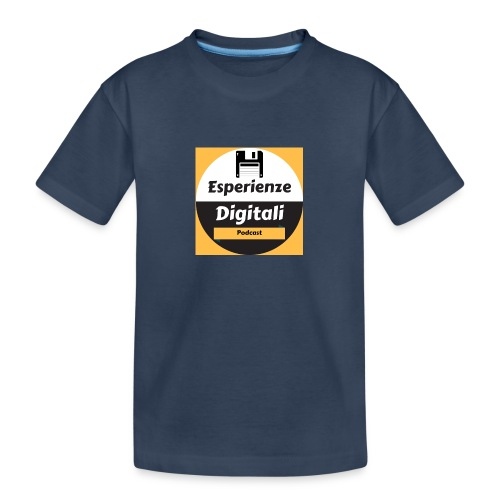 Logo Esperienze Digitali - Maglietta ecologica premium per ragazzi