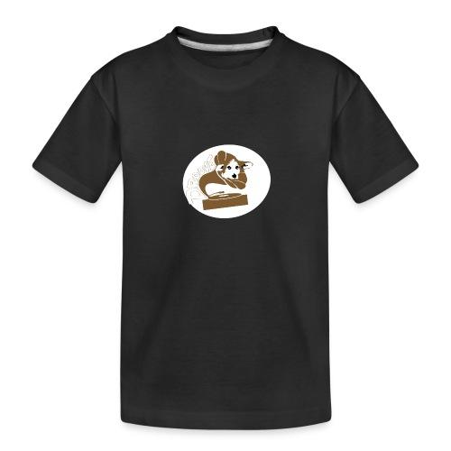 Droove logo - Teenager premium biologisch T-shirt