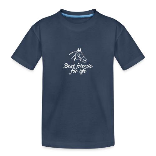 Pferd - Teenager Premium Bio T-Shirt