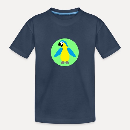Yellow-breasted Macaw - Teenager Premium Organic T-Shirt
