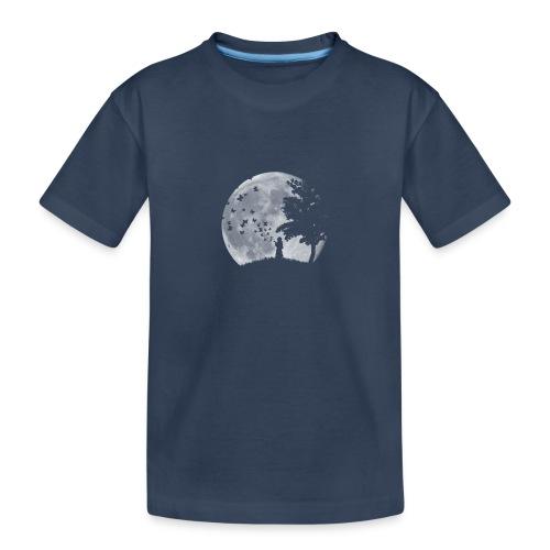 Lune Papillons Ombre - T-shirt bio Premium Ado
